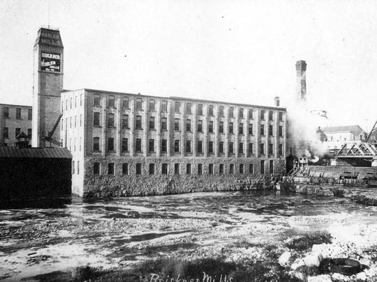 Brickner Woolen Mills, Sheboygan Falls, Wisconsin, where Michael Deeley earned a living and made his reputation in the woolen industry.