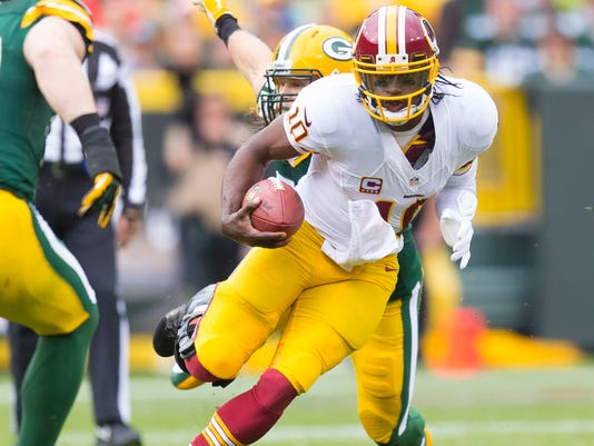 USP NFL_ Washington Redskins at Green Bay Packers_002