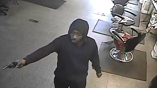 An armed robbery occurred March 16 on the 10500 block of W. Chicago.