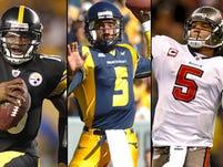 Buffalo Bills mull over quarterback choices.