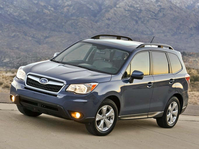 10th place: The Subaru brand, of which its best-placing model was the Subaru Forester, seen here as a 2014