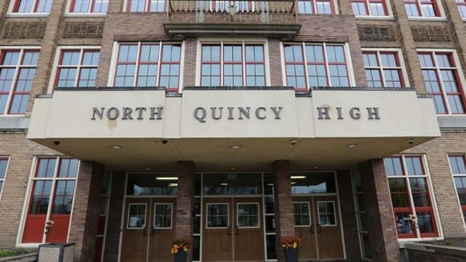North Quincy High School. Patriot Ledger file photo