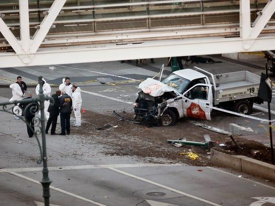 Nyc Terror Attack Manhattan Bike Path Lacked Safety Barriers
