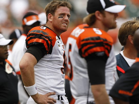 Palmer was ready to end his Bengals career in the offseason