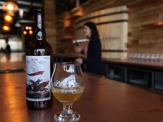 Jolly Pumpkin Pizzeria and Brewery opened its doors