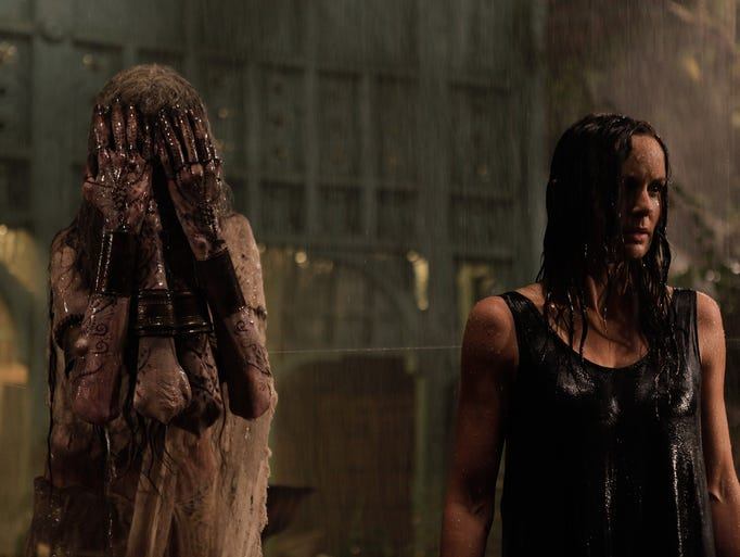 Maria (Sarah Wayne Callies, right) is about to confront
