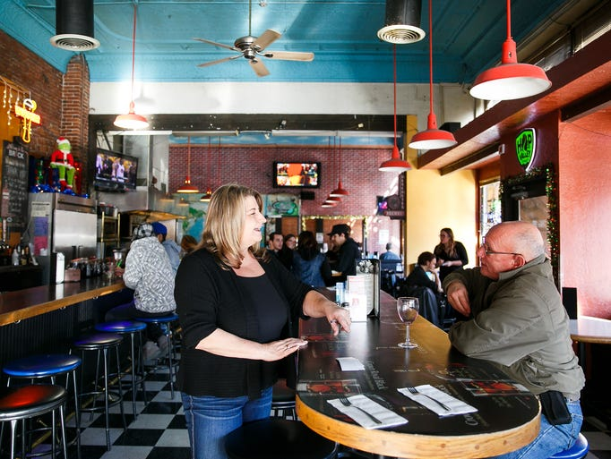 The Brick Bar and Broiler co-owner Sandy Salchenburg,