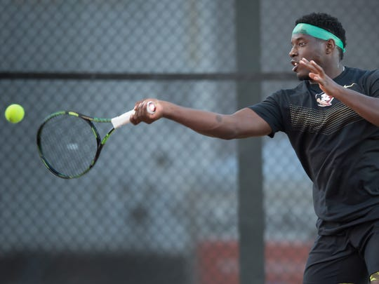 Terrell Whitehurst is currently 10-6 on the season in singles play.