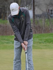 Mike Kee is one of Howell's top returning golfers.