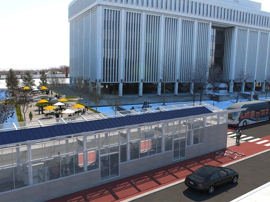 Rendering provided by the Regional Transit Authority
