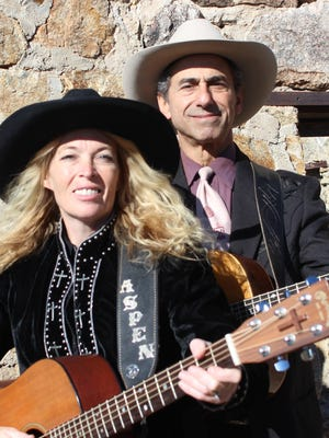 Aspen Black and Kerry Grombacher will perform in concert at 6 p.m. on Monday, July 23, at the Luna Rossa Winery west of Deming, NM.