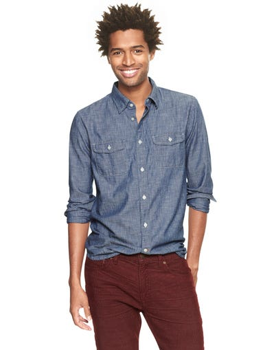 "You've swapped the board shorts for dark denim and the seersucker for something more subtle. But for guy style, ""subtle"" doesn't have to signal ""snore."" USA TODAY's Olivia Barker rounds out five easy pieces for fall that are fresh — and maybe even a little fun. 