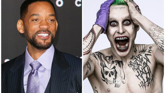 Will Smith's emotions were probably Jared Leto's face