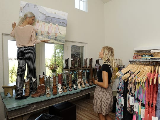 Filly Flair Boutique launched a successful online store before opening a physical store in Sioux Falls in 2015.