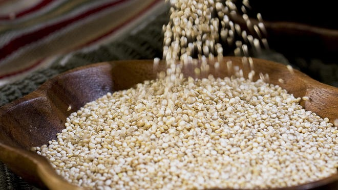 Quinoa is higher in protein than most grains.