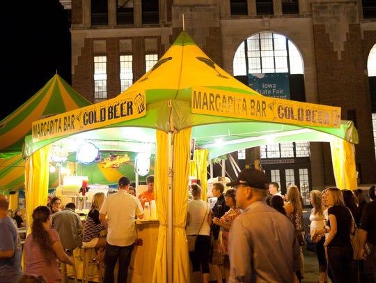 Margarita bar at the Iowa State Fair.