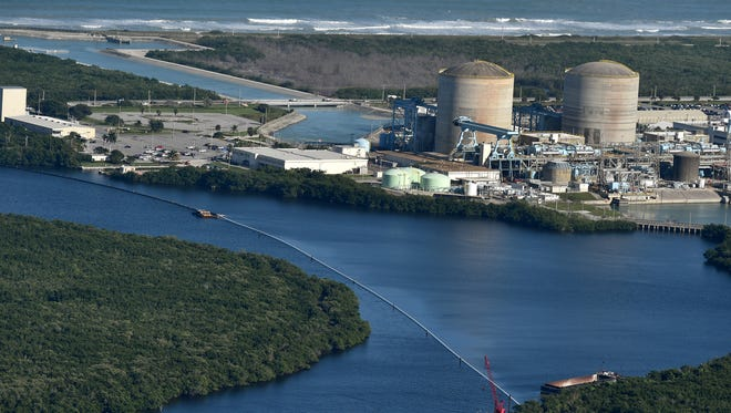 The St. Lucie Power Plant on Hutchinson Island is seen in this 2016 file photo.