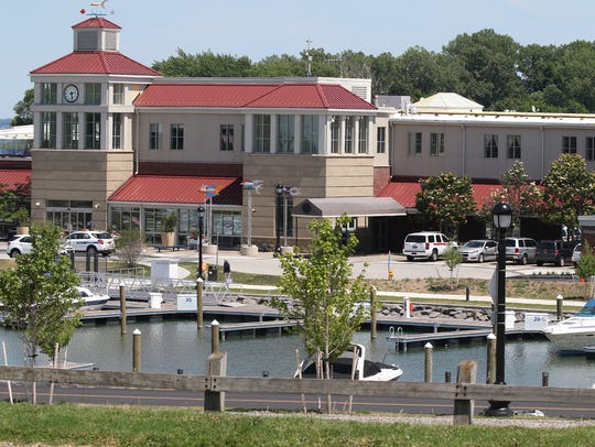 The Marina at the Port of Rochester.