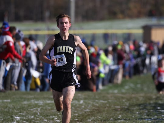 Nanuet's Ryan Guerci came in seventh during the New