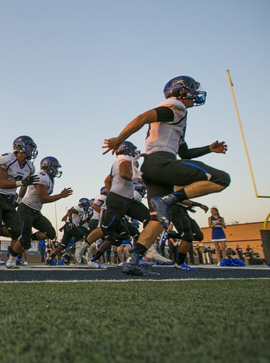 Every Monday, azcentral sports reporter Richard Obert will roll out the Super 10, a look at the top high school football teams in Arizona, regardless of divisions.