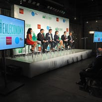 Photos: USA TODAY/Wells Fargo 'The Real Economy' panel discussion