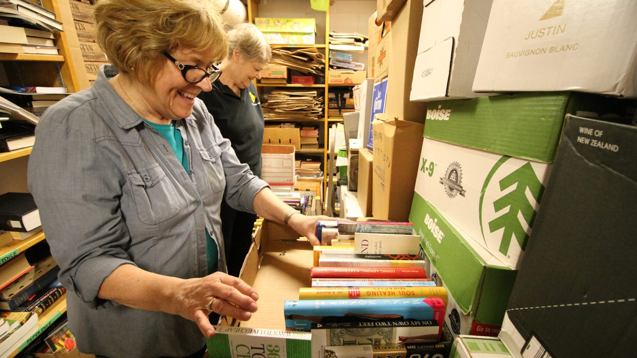 The Friends of the Elm Grove Library (FOGEL) are busy unpacking and organizing more than 20,000 items for its 31st annual Book Sale set for March 2-5 in the Library's lower level.