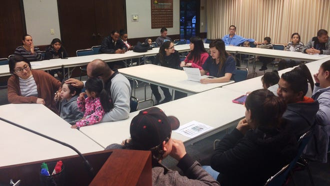 Seventeen parents recently attended a parent information session on the Dual Language Academy.