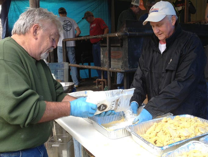The Pegram Community Club in Cheatham County hosted its annual fish fry on Saturday, March 29. Proceeds from the popular event are used to help maintain the club's building at the intersection of Thompson Road and Highway 70.