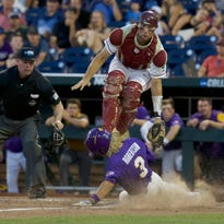 FSU falls short versus LSU, eliminated from CWS