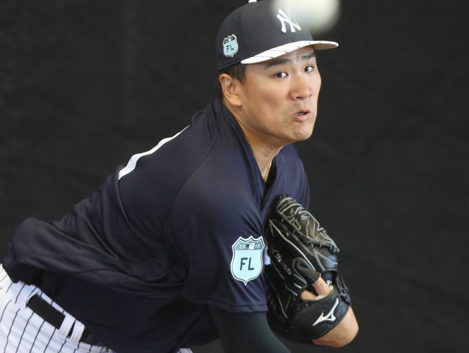 There was a lot of interest in seeing Masahiro Tanaka