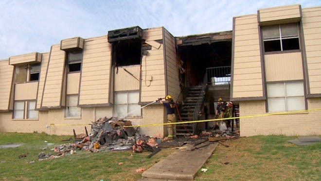 Eve Jammer, 2, perished when a fire broke out Feb. 23, 2014, in her Dallas apartment.