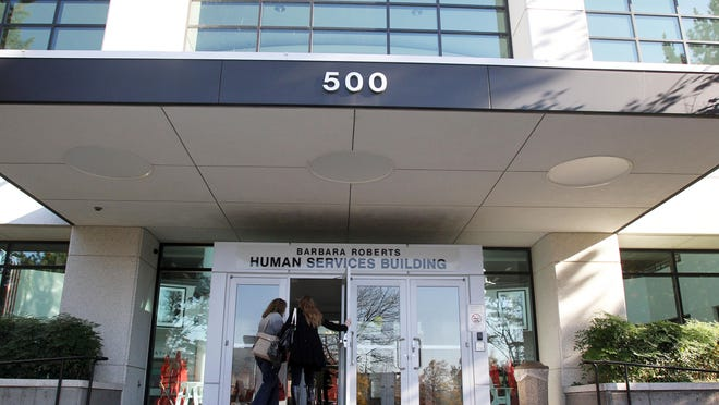 File photo of Oregon's Human Services Building in Salem.