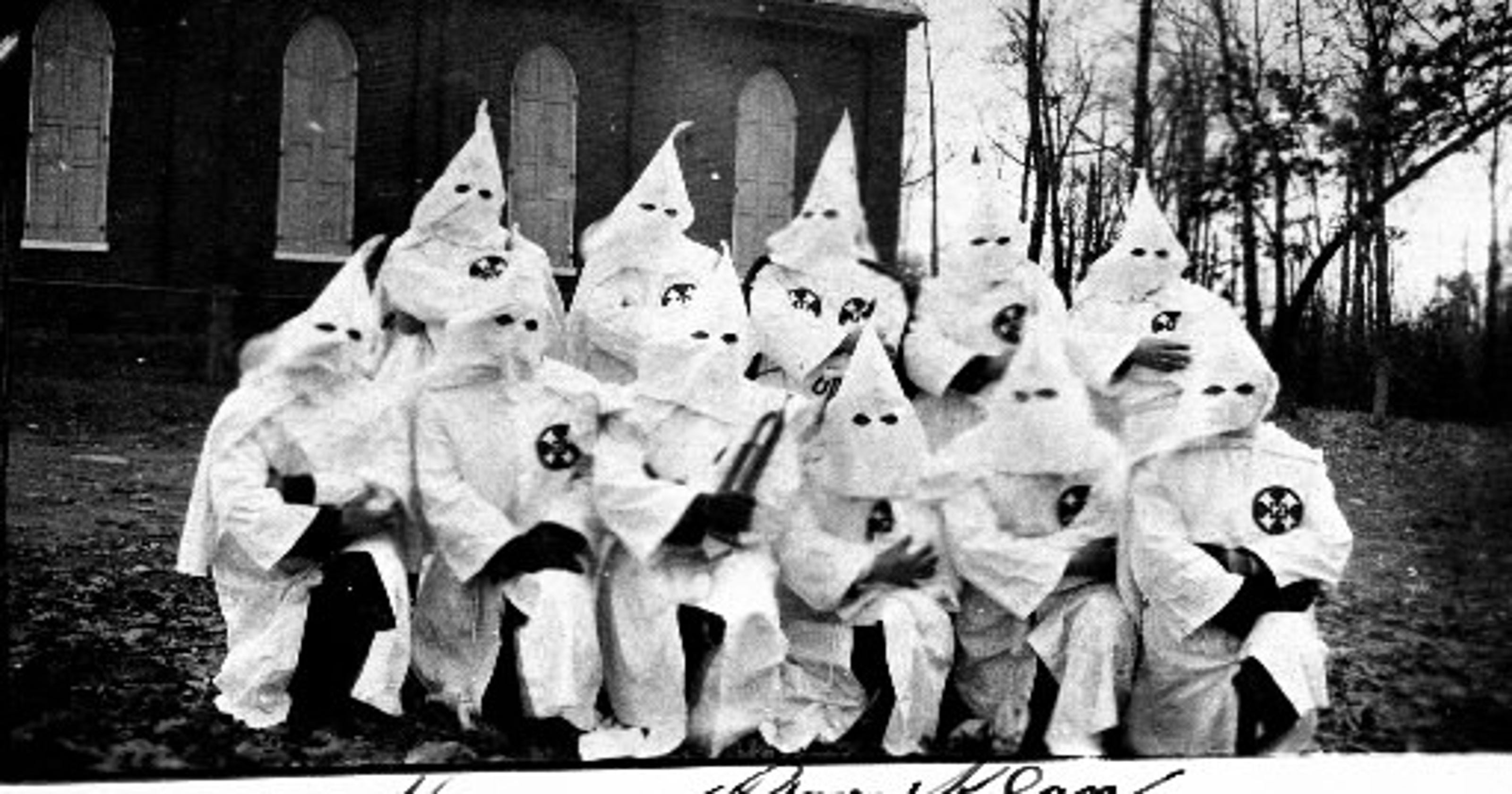 Finder of KKK certificate: \'My first thought was fear ... the Ku ...