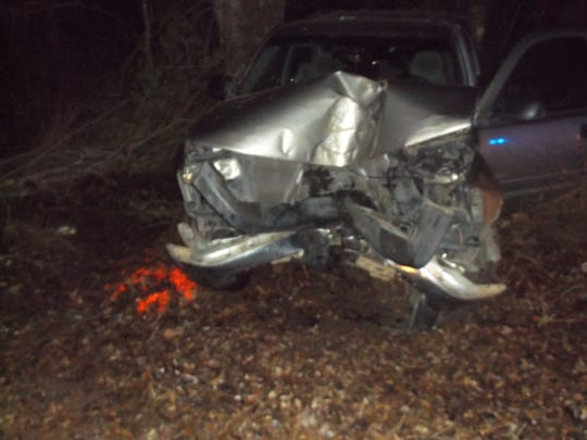 A man was killed in a Claiborne County accident Tuesday night.