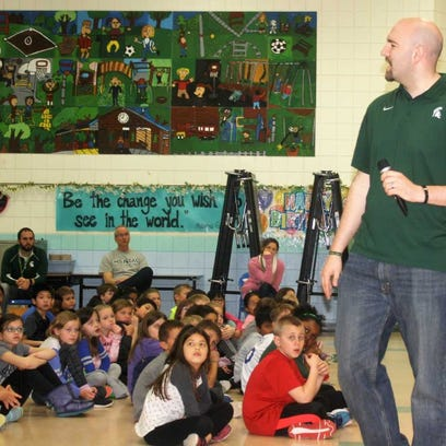 Former MSU player Anthony Ianni delivers strong anti-bullying message