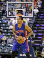 Pistons guard Spencer Dinwiddie