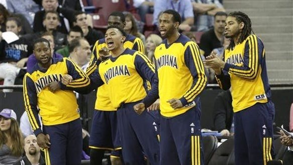 Indiana Pacers bench