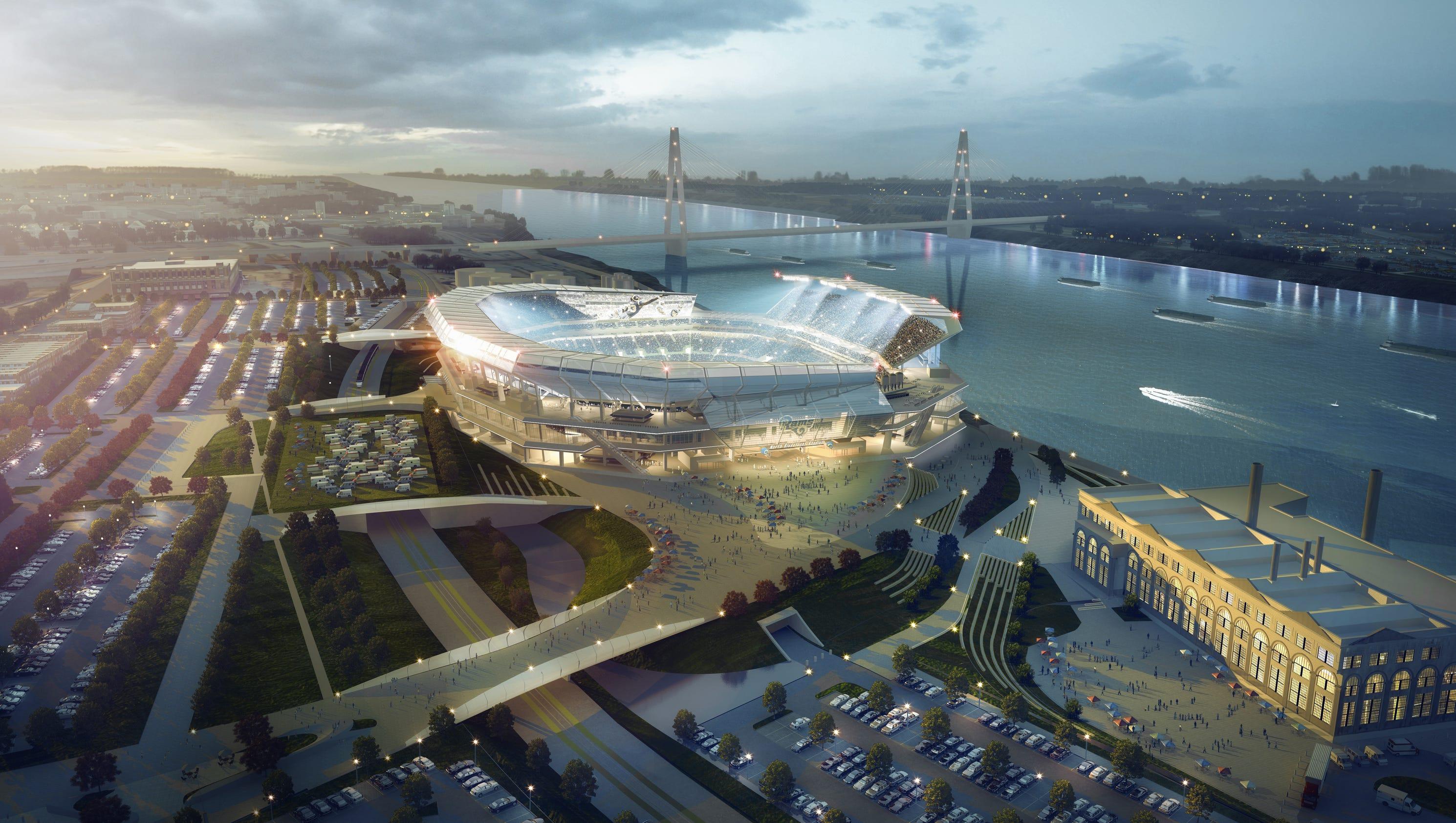 Missouri Lawmakers File Lawsuit Over Rams Stadium