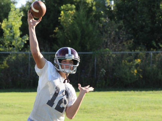 Eagleville quarterback Ethan Cobb has thrown for 829 yards through the first five games of the season.