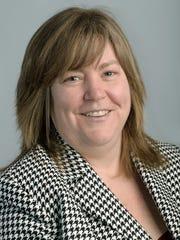 LSJ editor Stephanie Angel, Lansing Thursday Feb. 20,
