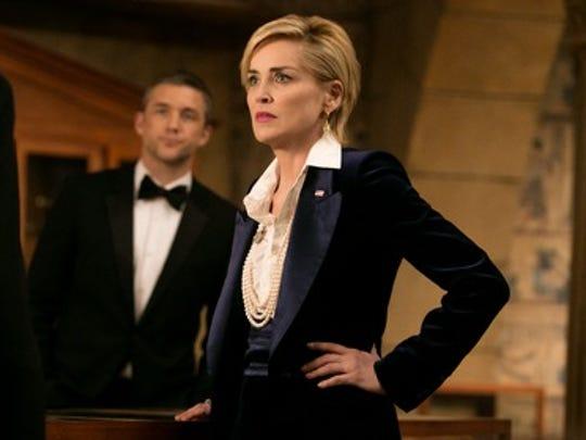 Sharon Stone plays Vice President Natalie Maccabee,