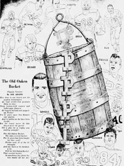 Getting ready for the 1952 Old Oaken Bucket