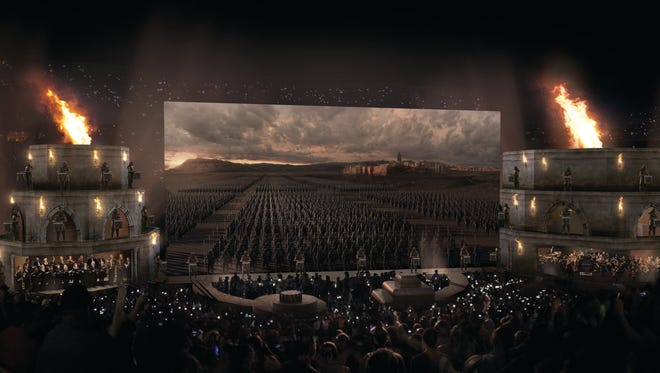 "The sound of ""Game of Thrones"" is on tour, with upcoming performances scheduled for New York City and Philadelphia."