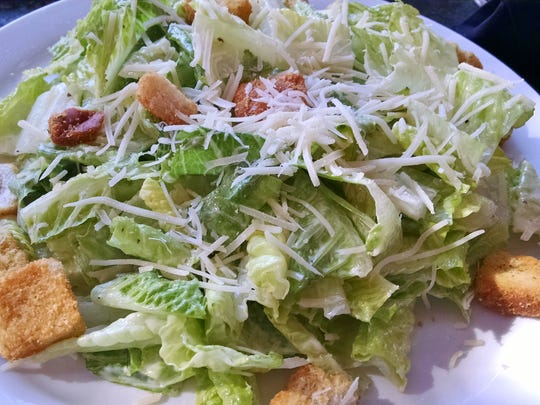 Classic Caesar Salad at the Village Pub in Palm Springs.