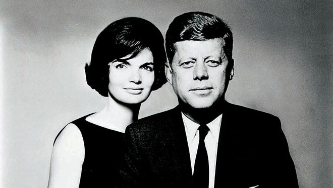 John F. Kennedy with his wife, Jacqueline