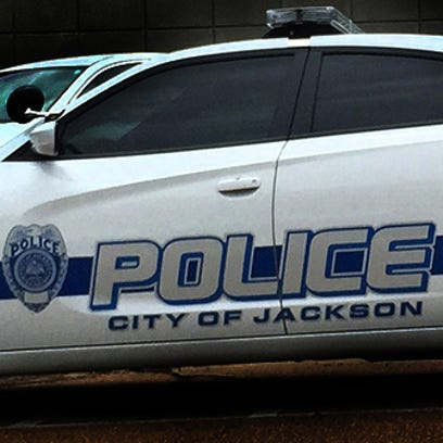 This is a file photo of a Jackson police car