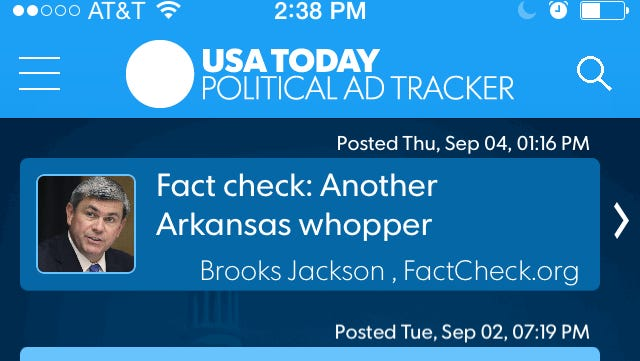 USA TODAY's Political Ad Tracker