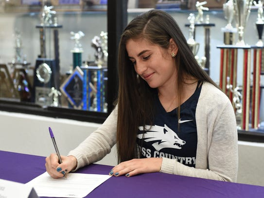 Alexis Melendrez signed with Nevada for cross country