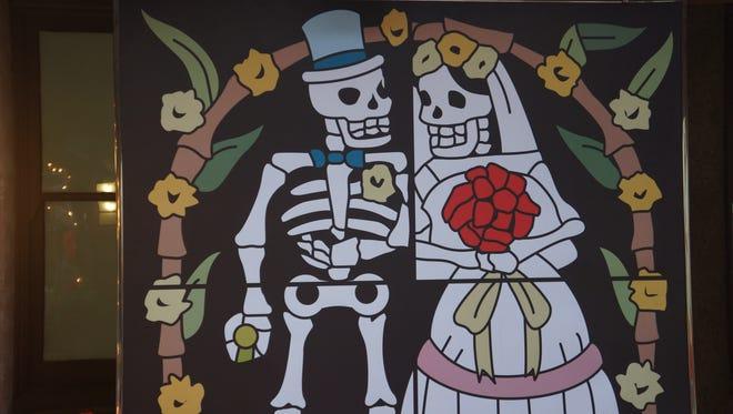 Dia de los Muertos celebration at the Coachella Valley History Museum, Nov. 1, 2014.