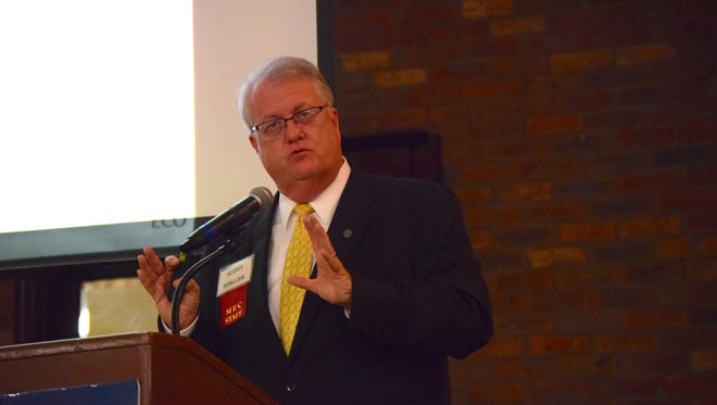 Scott Waller, Mississippi Economic Council's chief operating officer, shares what factors can move the state forward, including jobs, education, transportation and health/well-being.